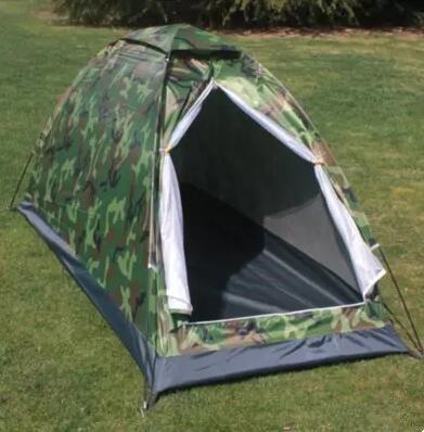 Al Aire Libre Wild Camping Individual formación 07 Digital Camuflaje Tiendas Wild Libre Camping 1 Persona 2 Personas automático Resistente al Agua 14e331