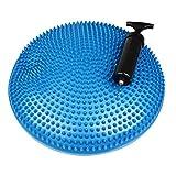 Gah-Alberts 140991Ball Cushion with Air Pump–Plastic Blue, Diameter: 330mm