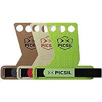 PICSIL AZOR Maniques 3H – Maniques Crossfit pour la Gymnastique, Les Pull-ups, la levée de Poids. Protégez Vos Paumes