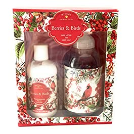 Michel For Body And Soul Berries And Birds Hand Lotion Set