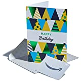 Amazon Premium Greeting Cards with Anytime Gift Cards, Pack of 3 (Birthday Hats Design)
