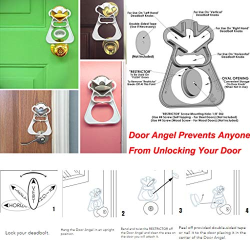 Sunnyys Deadbolt Bump Key Safety Security Travel Home Anti Bumping Lock