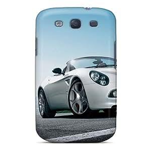 Faddish Phone Romeo Alfa Romeo 8c Spider Case For Galaxy S3 / Perfect Case Cover