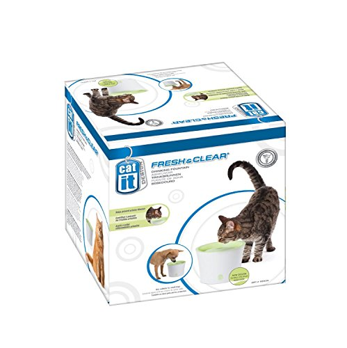 Catit Design Fresh and Clear Cat Drinking Fountain, Original 3-Pack ()