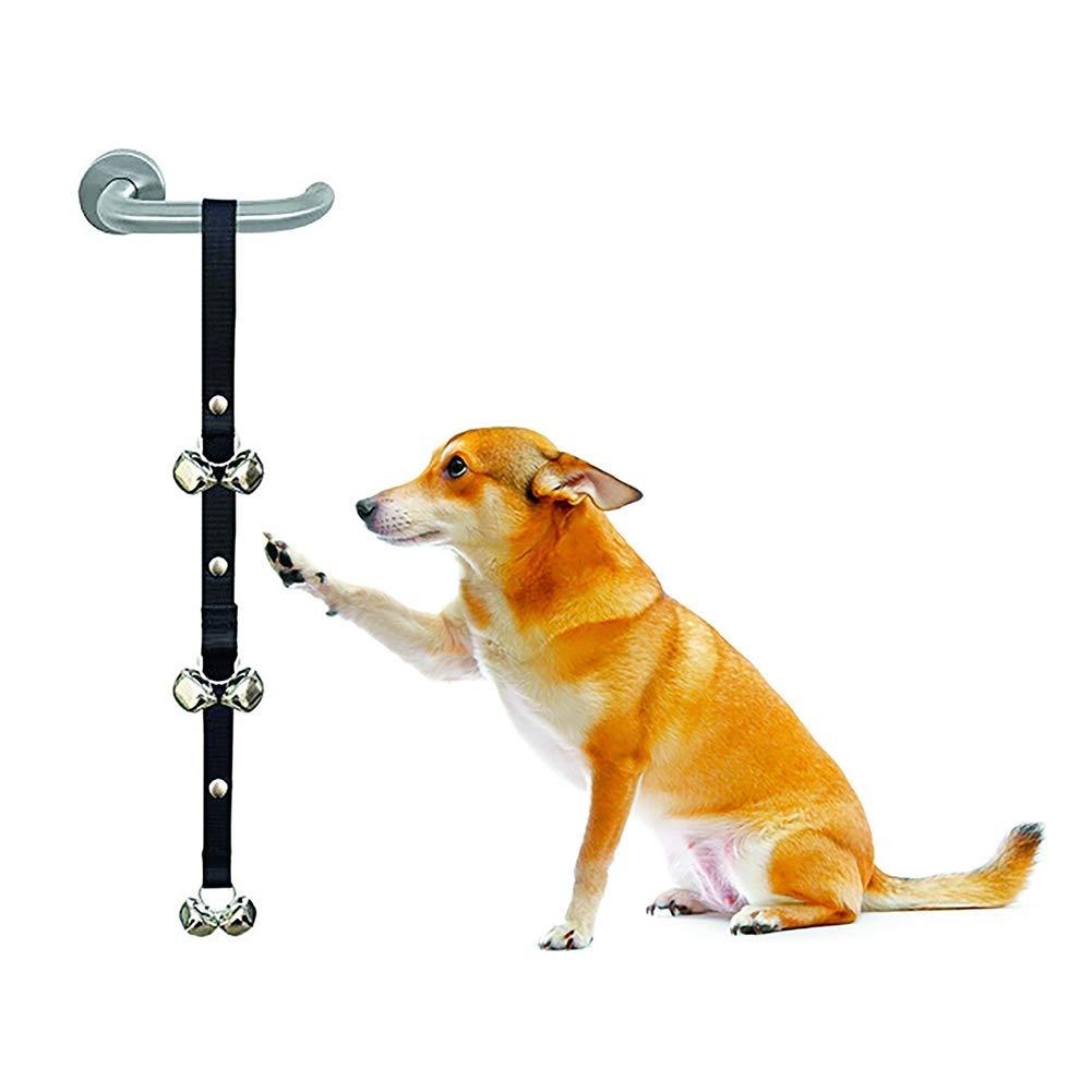 2pcs B 2pcs B Dog Doorbells,Premium Quality Training Potty Great Dog Bells Adjustable Door Bell Dog Bells for Potty Training Your Puppy