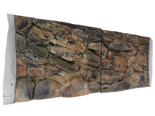 molte concessioni Acquario Parete posteriore posteriore posteriore 3d rocce 150 x 60 con Robi Zoo  qualità ufficiale