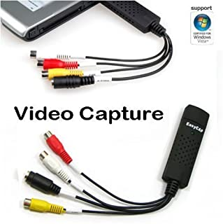 Altnux USB2.0 DV/TV/VHS/DVD Camcorders Video Audio Capture AV Adapter Card Win 2000, XP, Vista Compatible H35 (B0012HQFJK) | Amazon price tracker / tracking, Amazon price history charts, Amazon price watches, Amazon price drop alerts