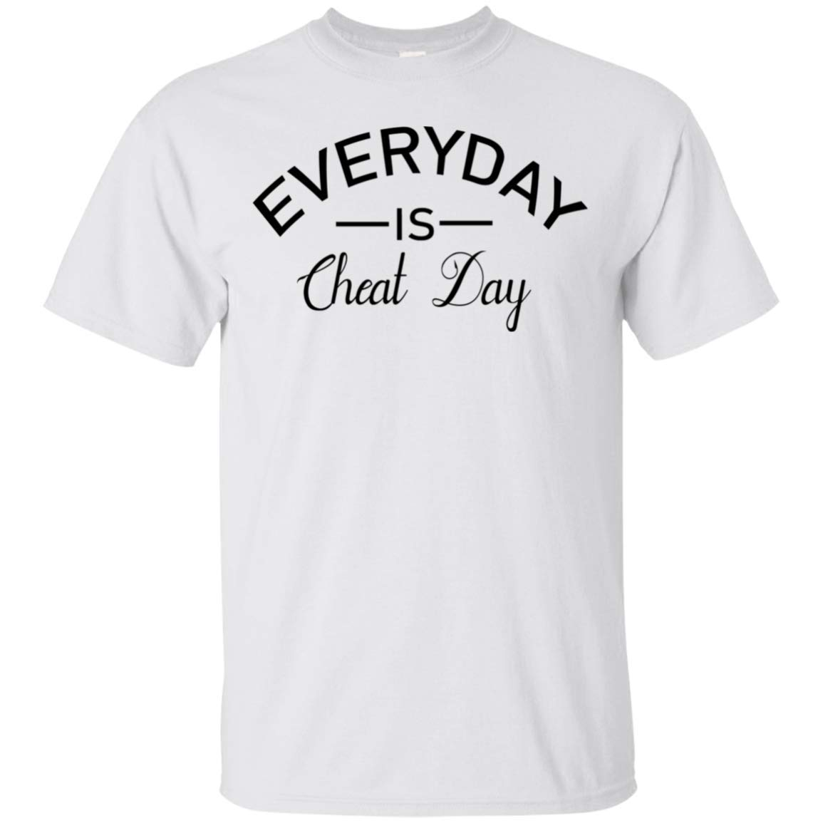 Molomon Everyday Is Cheat Day Yoga Healthy Tshirt Unisex Birthday Gifts S5
