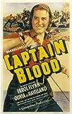 Captain Blood Poster Movie 11x17 Errol Flynn Olivia de Havilland Basil Rathbone J. Carrol Naish
