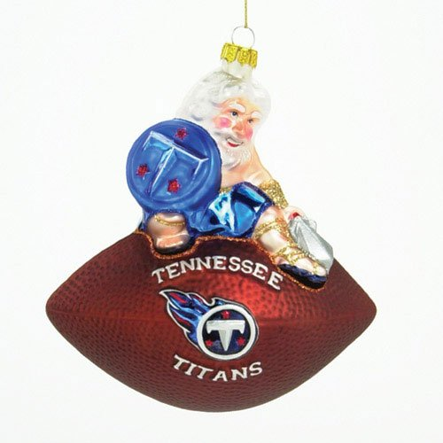Titans Football Ornament