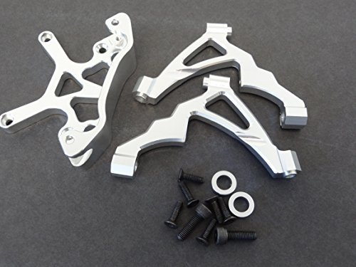 Shock Tower Support - 1/5 Rovan CNC Aluminum Front Shock Supports, Tower & Brace HPI Baja 5b 5t SS KM