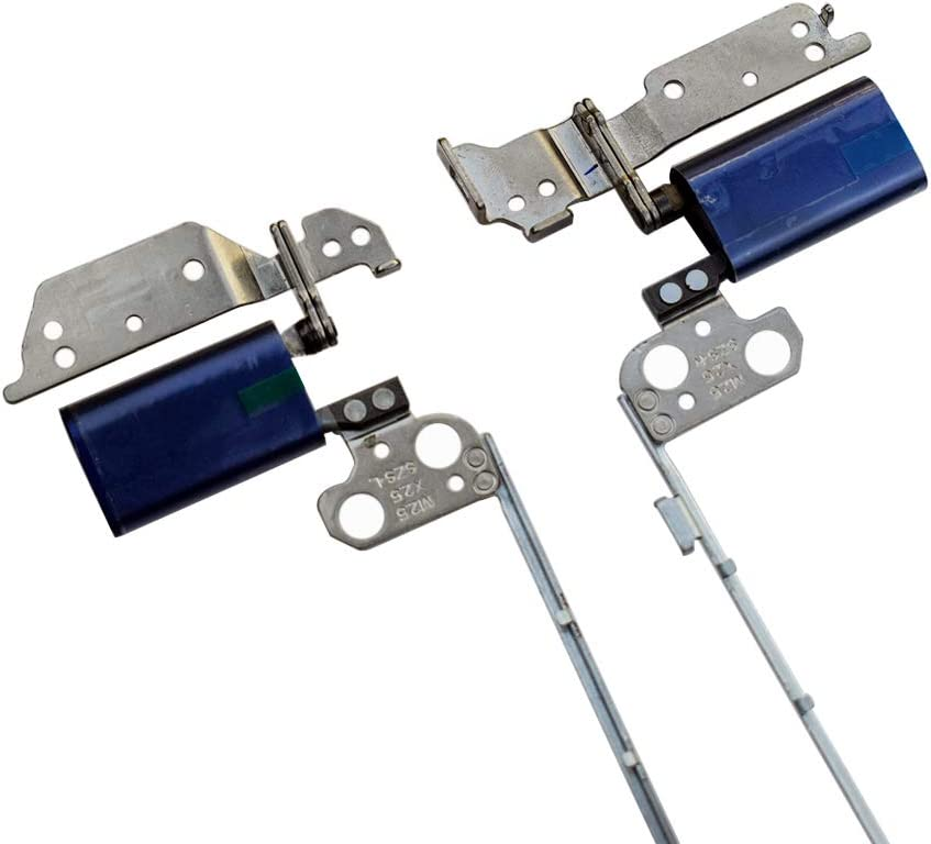 Rangale Replacement Left & Right Hinge for Del Inspiron 11 2-in-1 3000 3168 3179 Series Blue Laptop P25T LCD Screen Hinges Set (Blue Color)