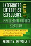img - for Integrated Enterprise Excellence, Vol. III Improvement Project Execution: A Management and Black Belt Guide for Going Beyond Lean Six Sigma and the Balanced Scorecard book / textbook / text book