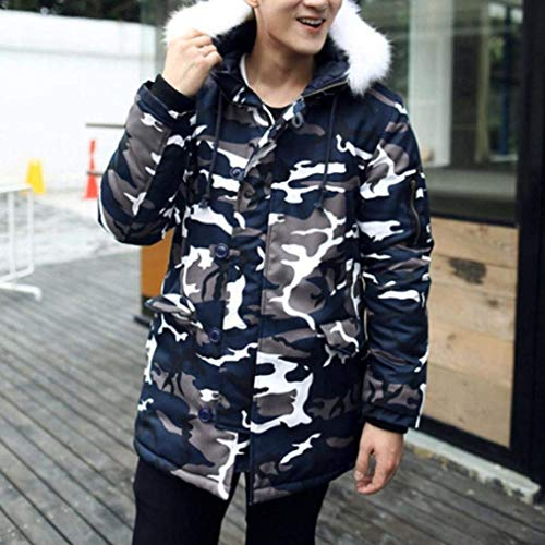 Fashion Padded Apparel Camouflage Coat Cotton Camouflage Winter Outwear Jacket Thick Jacket Jacket Winter Men's Quilted 4SwBZqgq