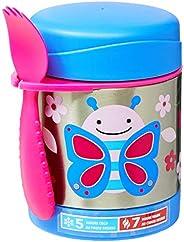 Skip Hop Recipiente de comida para bebés de acero inoxidable con tarro de comida con aislamiento, mariposa