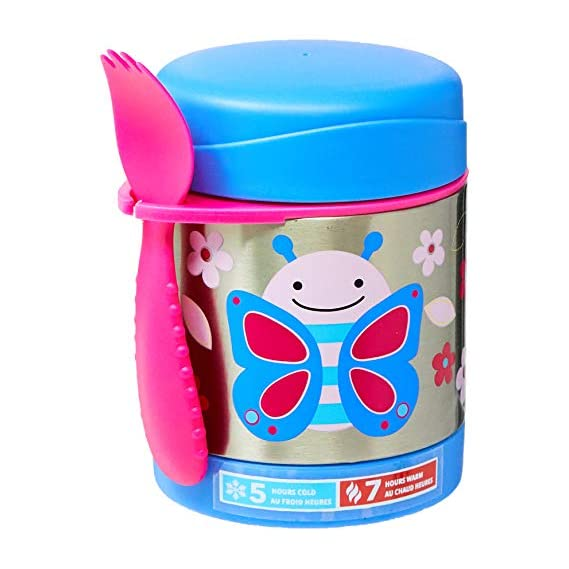 Skip Hop Zoo Insulated Food Jar - Butterfly (Multicolour)