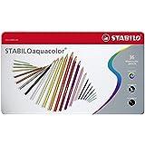 Stabilo Aquacolor - Paquete de 36 lápices de color acuarelable, multicolor
