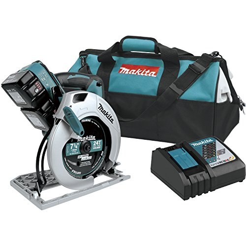 Makita XSH01T 18V x2 LXT Lithium-Ion (36V) Cordless 7-1/4 inch Circular Saw Kit (5.0Ah), (Discontinued by Manufacturer)
