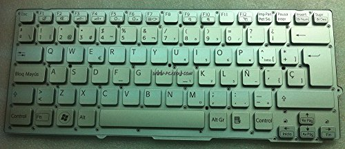 Vaio Sony Laptop Keyboard - Replacement for Sony Vaio VPC-EA Laptop Keyboard Black Without Frame