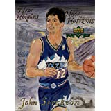 1999-00 Upper Deck MVP Draw Your Own Trading Card #W26 John Stockton - NM-MT