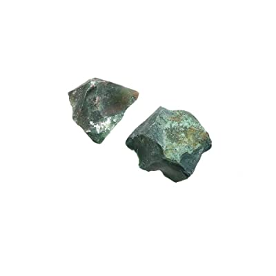 "Heliotrope Bloodstone/Plasma Mineral Specimen 1-2"" | 2 pcs.: Toys & Games"
