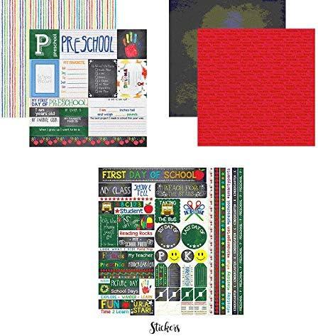 Youve Been Schooled Papers /& Stickers Set Preschool