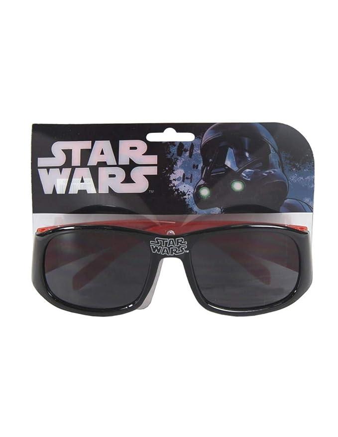 9704726867 STAR WARS - Gafas de sol - para niño negro/rojo Talla única: Amazon.es:  Ropa y accesorios