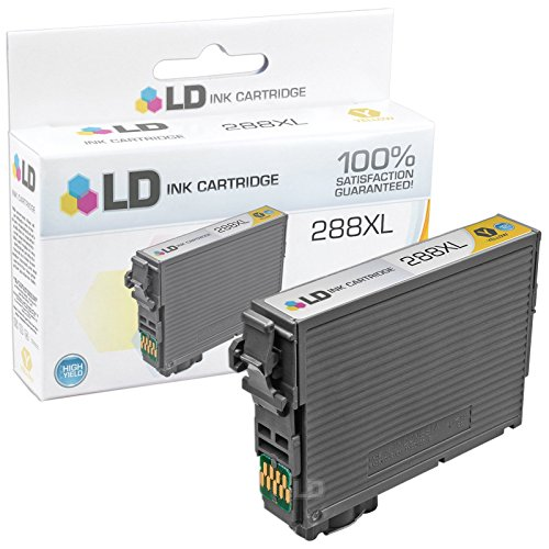 LD © Remanufactured Epson 288 / 288XL / T288 / T288XL Set of 4 High Yield Ink Cartridges (Black, Cyan, Magenta, Yellow) for use in Expression XP-330, XP-430, XP-434 & XP-440 Photo #5