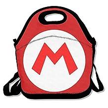 NaDeShop Mario M Logo Lunch Bag Tote