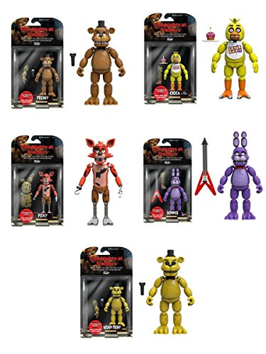 5 Action Figure Set - 2