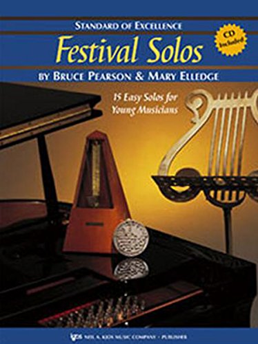 W37CL - Festival Solos Book 2 Book/CD - Clarinet