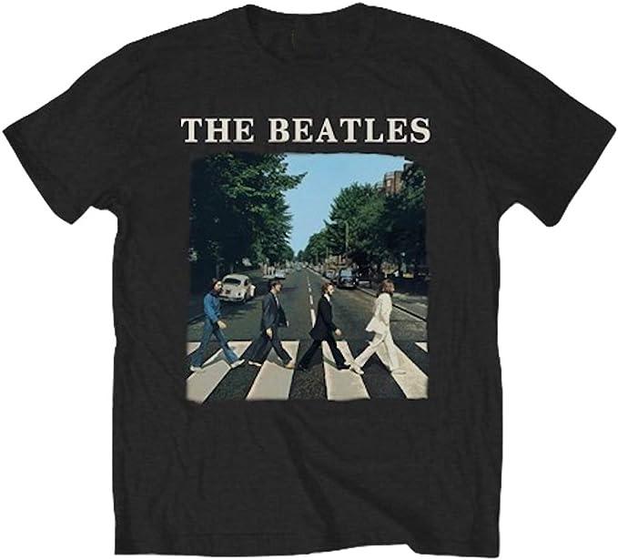 The Beatles Abbey Road Officiel T Shirt pour Hommes