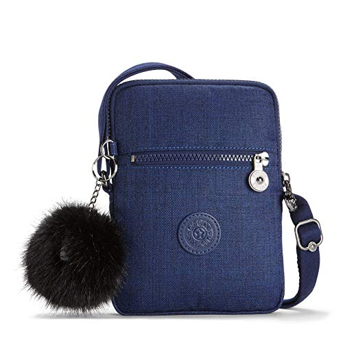 Cotton in ESSYLA Bag crossbody Kipling Small Indigo wpSIqRXR