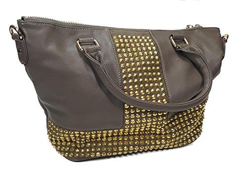 deux-lux-madonna-satchel-purse-gold-studded-in-mink-dl214-959-msrp-145