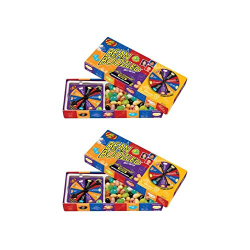 Jelly Belly 4th Edition Beanboozled Jelly Beans Spinner Gift Box, 3.5 oz (Pack of 2)