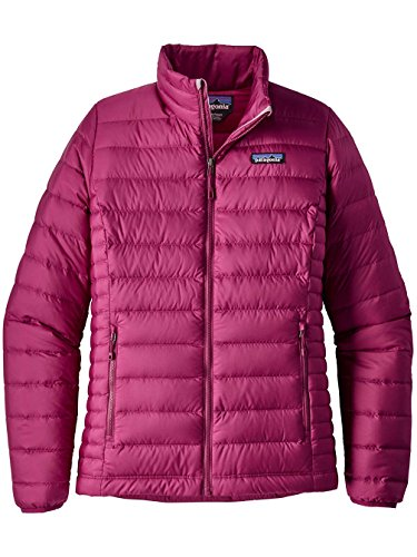 Patagonia Women's Down Sweater Jacket (Small, Magenta) (Patagonia Down Sweater Jacket)