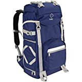 TUBU Large Camera Backpack for Outdoor Hiking Shockproof Waterproof Fit Laptop DSLR Cameras and Gears (Blue)