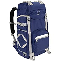 TUBU Camera Backpack for Outdoor Hiking Shockproof Waterproof Fit Laptop DSLR Cameras and Gears (Blue)