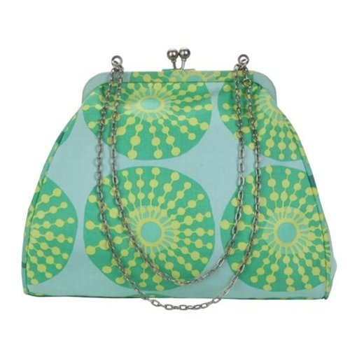 Amy Butler Nora Clutch with Chain - Sun Glow Sea Glass
