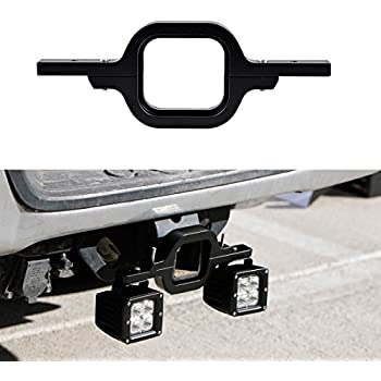 Amazon bully cr 007xl x large hitch brake light automotive deselen lp mb24p2 tow hitch bracket mounting kit for 3 inches class iii mozeypictures Choice Image