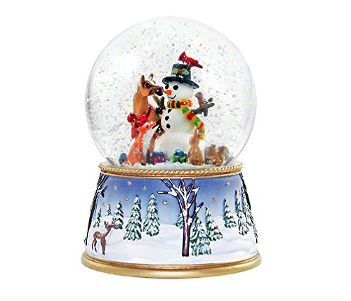Ornaments Musical Snowglobe - Breyer A Gathering on Friends Musical Snow Globe Ornament