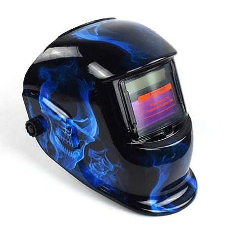 LAIABOR Automático oscurecimiento Soldador máscara Solar Oscurecimiento Automático Máscara de Soldadores para MIG/TIG/