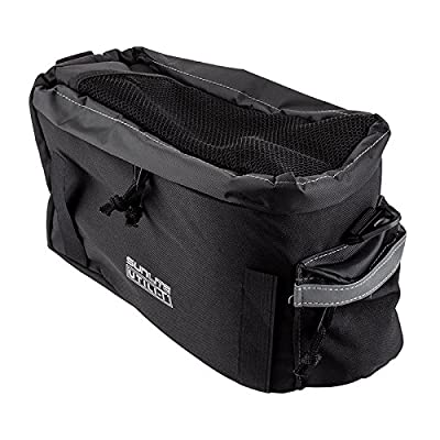 SUNLITE Utili-T Rackbag I Expandable, Black : Bike Panniers And Rack Trunks : Sports & Outdoors