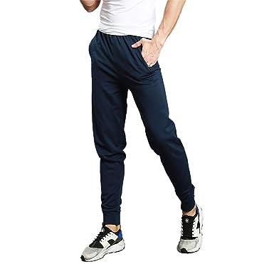 MEYINI Pantalón de chándal para Hombre - pantalón de chándal de ...