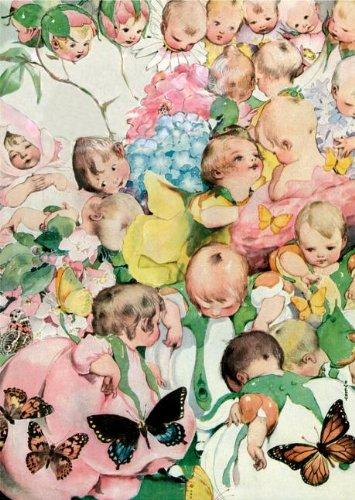 Garden of Babies - New Child Greeting Card pdf epub
