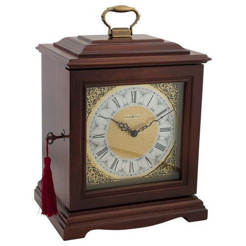 Silverlight Urns Continuum Cherry Clock Urn by Howard Miller, Memorial Urn for Display and Ashes, Wood, Extra Large Size