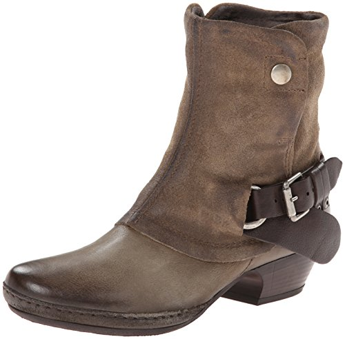 Women's Miz Mooz 'Evelyn' Leather Ankle Bootie Taupe Size 38