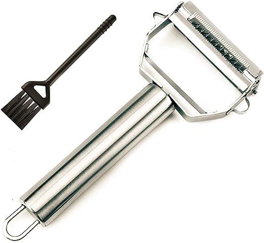 3in1 Vegetables Peeler Julienne Micro Speed Stainless Steel Blade Potato Peeler.