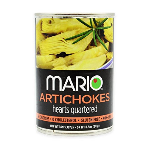 Mario Camacho Foods Artichokes Hearts, Quartered, 8.5 Ounce