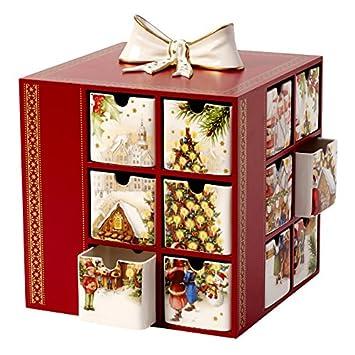villeroy und boch adventskalender tannenbaum frohe weihnachten in europa. Black Bedroom Furniture Sets. Home Design Ideas